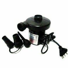 D Kids Air Pump เครื่องเป่าลม ที่สูบลมไฟฟ้า เป่าลมยาง (เป่าลม-ดูดลม) หัวสูบ3ขนาด  .