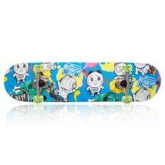 ความคิดเห็น Doraemon สเก็ตบอร์ด โดราเอมอน Skateboard Doraemon 31X08 นิ้ว Deck Blue