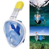 ซื้อ หน้ากากดำน้ำ แบบเต็มหน้า หายใจสะดวก หายใจทางจมูกขณะดำน้ำ ไม่ต้องคาบท่อ รุ่น Dp01N L Xl Dolphin