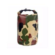 ซื้อ Dry Super กระเป๋ากันน้ำ ถุงกันน้ำ Waterproof Bag รุ่นลายพรางทหาร ความจุ 5 Liter สีเขียว Dry Super ถูก
