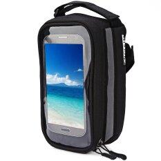 ขาย ซื้อ Duuti Bicycle Frame Tube Panniers Waterproof Touchscreen Phone Case Reflective Bag Intl
