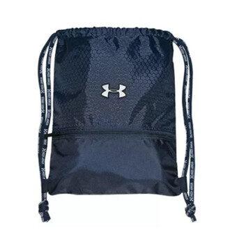 เชือกกันน้ำร้อนกระเป๋า/กระเป๋าเป้/กระเป๋ากีฬา/กระเป๋า/รองเท้ากีฬากระเป๋าสะพายสตรีคนเดินป่า A4ฟุตบอลบาสเกตบอลถุง 8 สีพร้อมใหญ่ (ขนาด l) น้ำเงิน