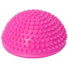 ราคา Egc Pvc Stabilizer Gym Pilates Fitness Balancing Bosu Ball Pink Intl ออนไลน์