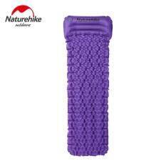 ส่วนลด Egg Trough Structure Camping Moisture Proof Air Mattress Purple Intl จีน