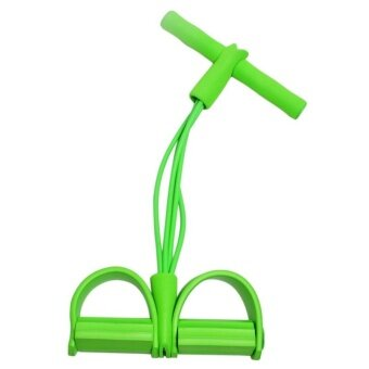 ยางยืดออกกำลังกายสายแถบความตึงเครียดเพาะกายขยายตัวดึงเชือก (สีเขียว) - สนามบินนานาชาติ