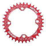 ขาย Elec Deckas Narrow Wide Bike Mtb Round Oval Chainring Chain Ring Single Plate 36T Red Intl Unbranded Generic