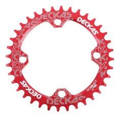 ราคา Elec Deckas Narrow Wide Bike Mtb Round Oval Chainring Chain Ring Single Plate 36T Red Intl เป็นต้นฉบับ