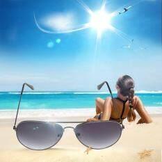 หรูหราผู้ชายผู้หญิงแว่นตานักบินแฟชั่น Reflectiveportsunglasses By Allwin2015.