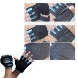 ซื้อ Elit Aolikes ถุงมือฟิตเนส ไซส์ S M L Fitness Glove Weight Lifting Gloves Blue ถูก กรุงเทพมหานคร