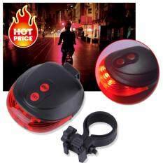 Elit ไฟเลเซอร์ท้ายรถจักรยาน Bike Light Tail Bicycle Laser รุ่น BLT1-06KL(Red)
