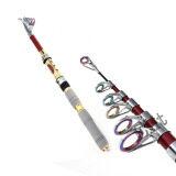โปรโมชั่น Elit เบ็ดตกปลา พกพา ยาว 2 1 เมตร Telescopic Fishing Rod Carbon รุ่น Fsr1 Df02 Elit
