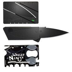 ขาย Elit มีดพับ บัตรเครดิต มีดการ์ด Ninja Wallet Card 18 In 1 Tools การ์ดอเนกประสงค์ Elit ถูก