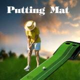 โปรโมชั่น Sinlin พรมซ้อมพัตต์ Putting Mat สำหรับซ้อมกอล์ฟ พร้อมระบบคืนลูกอัตโนมัติ ใน กรุงเทพมหานคร