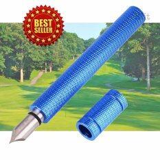 ซื้อ Elit อุปกรณ์เซาะร่องหน้าเหล็กไม้กอล์ฟ V Groove Sharpening Tool Blue ใน Thailand