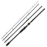 Era Portable Super Hard Tune High Carbon Long Shot Lure Rod Sea Rod Fish Pole Black 3 0M Intl เป็นต้นฉบับ