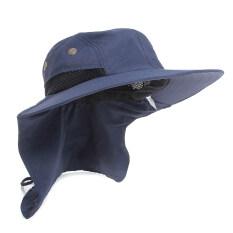 ราคา เรือประมงแตกค่าย Boonie หมวกคลุมหมวกคอพับหูแสงสีน้ำเงิน ถูก