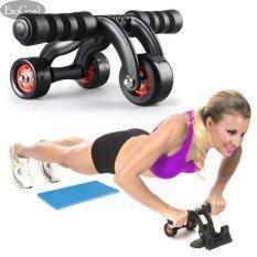 ขาย Esogoal 3 Wheel Ab Roller Wheel Pro Core Fitness Abdominal Exercise Equipment Gym Home Workout Machine With Kneepad Floor Stopper ออนไลน์ ใน จีน