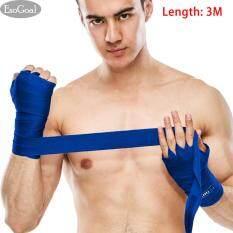 โปรโมชั่น Esogoal Boxing มือ Wraps สไตล์เม็กซิกันไทยสายรัดคิกบ็อกซิ่งการฝึกอบรมฟิตเนส คู่ 3 เมตร ถูก