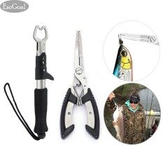 ราคา Esogoal Fishing Grip Lip Gripper And Fish Holder With Fishing Pliers Stainless Steel Tools Cutter For All Fishing Including Carp Bass Pike And Trout With Sheath Intl เป็นต้นฉบับ