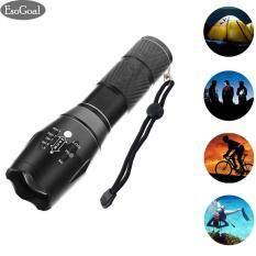 โปรโมชั่น Esogoal Led Flashlight 2000 Lumens T6 Portable Ultra Bright Tactical Flashlight