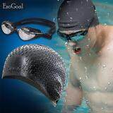 Esogoal Silicone Swim Caps And Anti Fog Uv Protection Waterproof Diving Glasses Fit For Women And Men จีน
