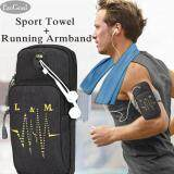 ส่วนลด Esogoal Sports Armband Multifunctional Pockets Workout Running Armbag And Cooling Towel For Sports Fitness Gym Yoga Pilates Camping More Esogoal จีน