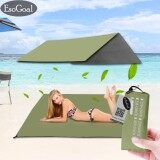 ซื้อ Esogoal Waterproof Camping Tarp For Picnics Ground Mat Tent Footprint And Sunshade Size 59 X 83 Intl ถูก