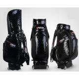 ราคา Exceed Golf Bag Black Colour ถุงกอล์ฟหนังแก้ว Pgm มีล้อลาก หนังแก้ว สีดำ Qb030 ออนไลน์