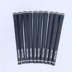 ซื้อ Exceed กริบไม้กอล์ฟ Golf Grip Tour Velvet Round Standard Size 10Pcs สีดำ 10ชิ้น ถูก