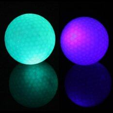 Exceed ลูกกอล์ฟกลางคืน สีฟ้า+สีเขียว แพ็ค2ลูก Golf Balls Night 2-Pack Golfing 1 Blue + 1 Green (gbn001) By Exceed.