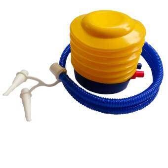 FD Premium  ที่สูบลมแบบมือ  (Hand Pump Inflatable) ขนาด12*12 cm.รุ่น ISW009 (สีเหลือง/น้ำเงิน)