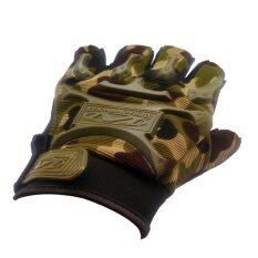 ขาย Fd Premium ถุงมือกีฬา ถุงมือจักรยาน ถุงมือออกกำลังกาย Bike Glove Sport Glove ครึ่่งนิ้ว ขนาด 14 16 2 Cm รุ่น Sg029 ลายพราง สีเขียว ออนไลน์