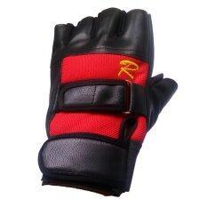 ราคา Fd Premium ถุงมือ มอเตอไซค์ ถุงมือจักรยาน Biker Glove Sport Glove ครึ่่งนิ้ว ขนาด 14 16 2 Cm รุ่น Sg021 สีแดง ดำ Fd Premium เป็นต้นฉบับ