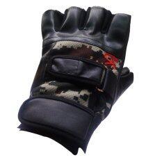 ราคา Fd Premium ถุงมือ มอเตอไซค์ ถุงมือจักรยาน Biker Glove Sport Glove ครึ่่งนิ้ว ขนาด 14 16 2 Cm รุ่น Sg023 ลาย สีดำ ลายพราง ใน กรุงเทพมหานคร