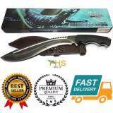 ซื้อ Fhs Black Mamba Dendroaspis Polylepis Toddbegg Knives มีดเดินป่าทรง กรุข่าขนาดใหญ่ 40 เซนติเมตร