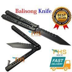 ซื้อ Fhs Super Knives Stainless Steel Blade มีดควงบาลีซอง ขนาดใบสแตนเลส 22 Cm ออนไลน์ ถูก