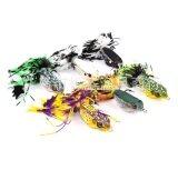 ซื้อ Fight For Fish Ing เหยื่อปลอม กบยางมีพู่ ชุด6ตัว ถูก