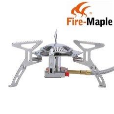 ซื้อ Fire Maple Fms 105 Outdoor Camping Hiking แยกพับได้เตาแก๊สทำอาหาร 2600W ออนไลน์