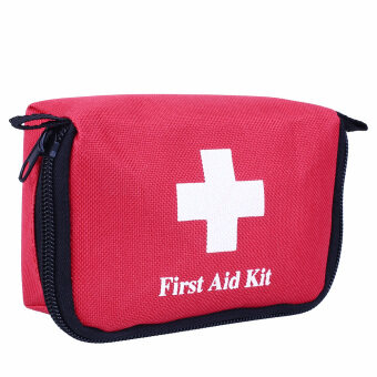 First Aid Kit Travel Bag Car Home Small Emergency Medical Survival Treatment Box - intl