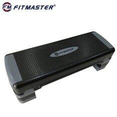 Fitmaster Aerobic Step Ir97317 สเต็ปเปอร์สำหรับเล่นแอโรบิค (สีดำ เทา).