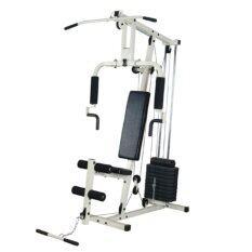 ขาย Fitmaster อุปกรณ์ฝึกกล้ามเนื้อ โฮมยิม Home Gym 1 สถานี เครื่องออกกำลังกาย รุ่น Hg01 สีขาว ออนไลน์ กรุงเทพมหานคร