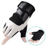 ขาย ซื้อ Fitness Gloves Male Training Wrist Pad Breathable Wear Resistant Anti Skid Half Finger Riding Protective Gloves Intl ใน จีน