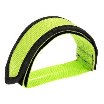 Fixed Gear Fixie BMX Bike Bicycle Anti-slip Double Adhesive Straps Pedal Toe Clip Strap Belt