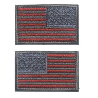 Flag Magic Stickers Badge Left Shoulder Right Shoulder Cloth Cloth Stickers - intl