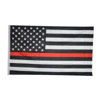 ธง 3 โดย 5 ฟุตธงสีดำสีขาวและสีฟ้าอเมริกัน - นานาชาติ