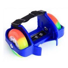 ความคิดเห็น Flashing Roller สเก็ตสวมรองเท้า ล้อมีไฟ สีน้ำเงิน