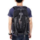 Free Knight 005 Outdoor Sports Backpack Hiking Camping Waterproof Nylon Bag 40L Black ใน จีน