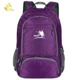 ขาย Free Knight Fk0716 35L Nylon Folding Ultra Light Water Resistant Backpack Sch**L Bag For Camping Hiking Purple Free Knight ถูก
