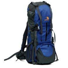 ราคา New Year Free Knight Waterproof Nylon 65 5L Backpack Outdoor Travel Camp Lovers Large Capacity Mountaineering Bag Blue Intl Unbranded Generic เป็นต้นฉบับ