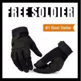 ขาย ถุงมือทหาร ถุงมือฟิตเนส จักรยาน กีฬาต่างๆ พรีเยี่ยมหนังทนพิเศษ สีดำ Free Size ใหม่